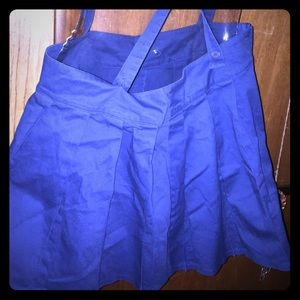 Hot topic skirt suspenders size xlarge